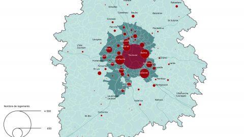 Les logements collectifs autorisés en 2013