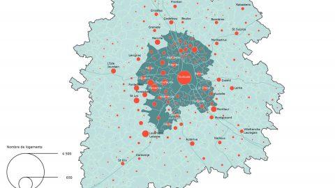 Les logements individuels autorisés en 2013