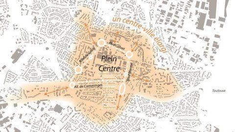 un centre-ville élargi