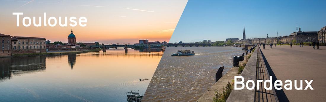 Toulouse vs Bordeaux : on refait le match (côté urbanisme)