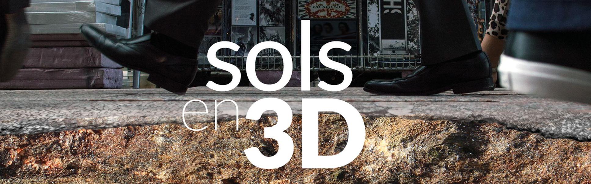 """Le nouveau numéro """"Sols en 3D"""" de la revue BelvedeR est en ligne"""