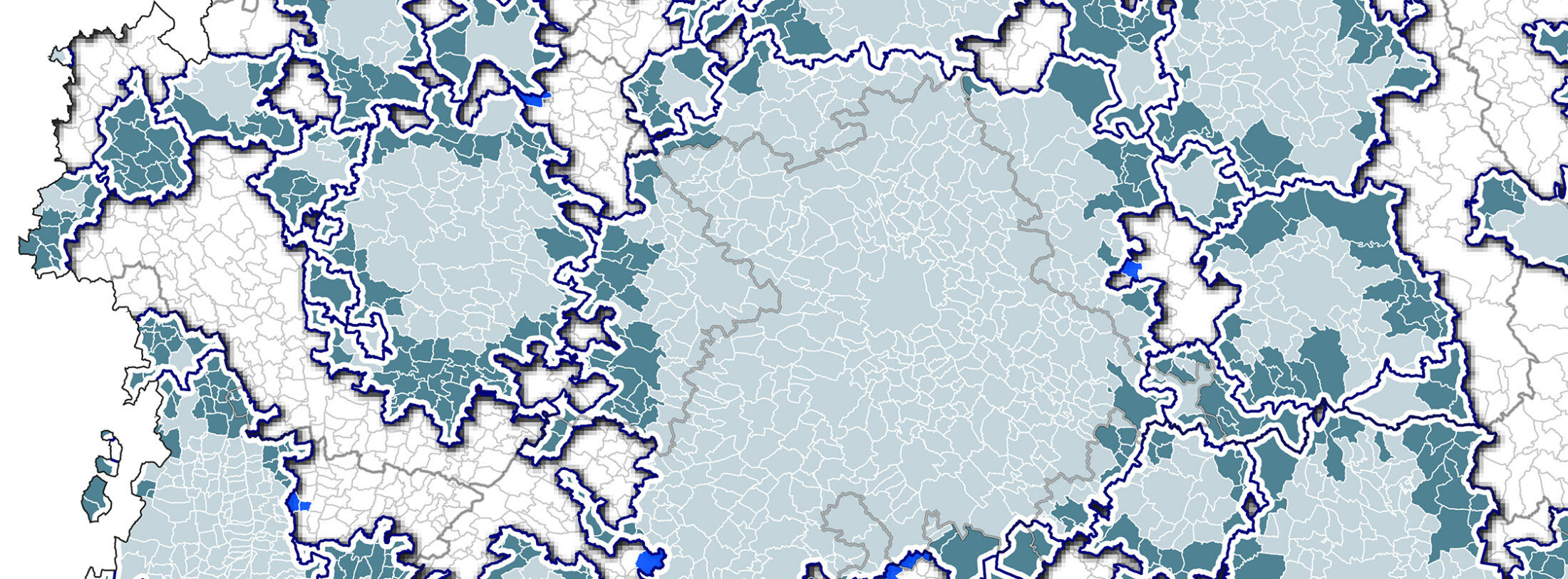L'espace métropolitain toulousain : du réseau à la plaque